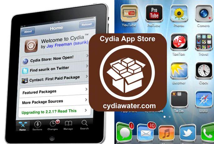 Como eu baixar app Cydia