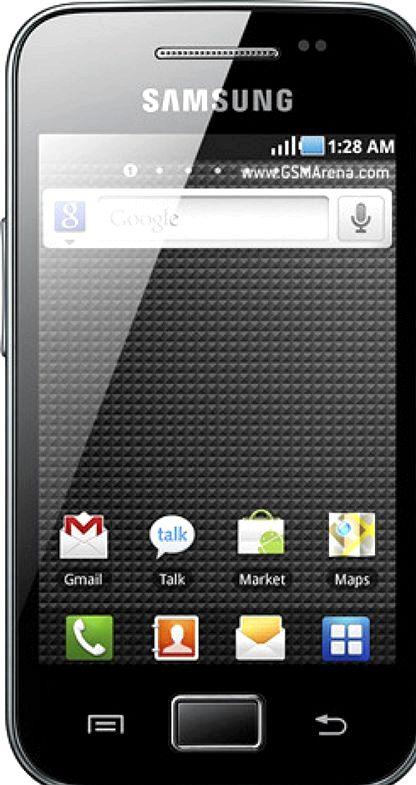 Quantas gb faz Samsung Galaxy Ace tem