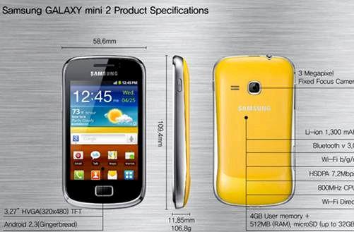 Quantos megapixels é Samsung Galaxy S3 Mini