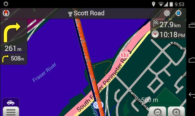 A quantidade de dados faz uso de smartphones GPS