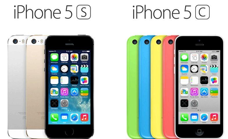 combien coute l iphone 5 s