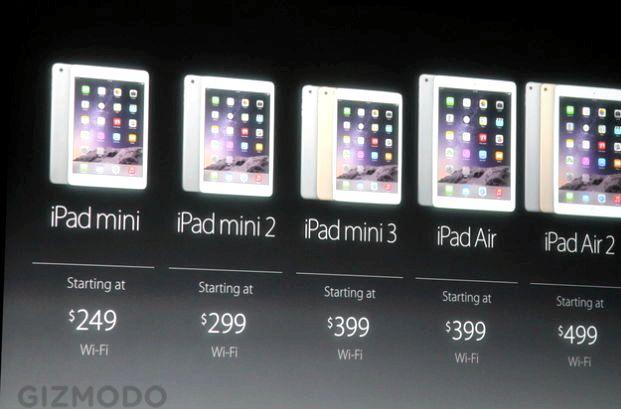 Quanto custa um iPad Mini 3