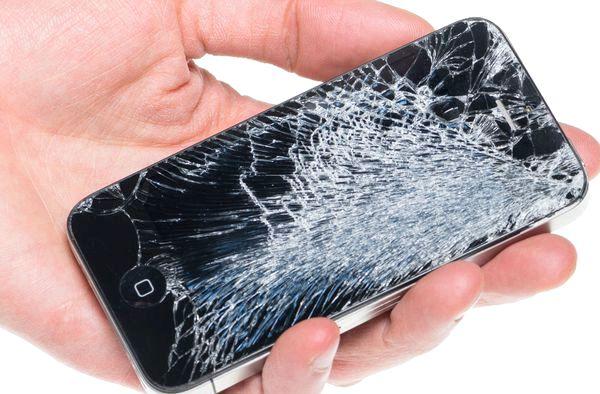 Quanto custa um iPhone 4 com tela quebrada