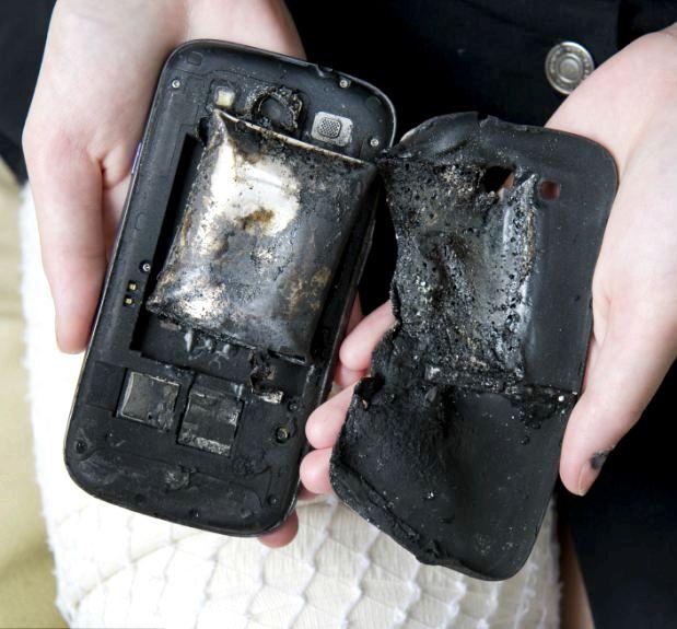 Hur ofta gör telefoner explodera