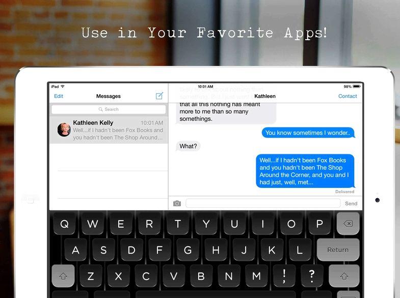 applicazioni iPad quel tipo quello che dici