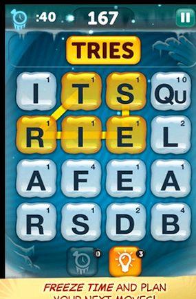 Ipad juego de lo que la palabra