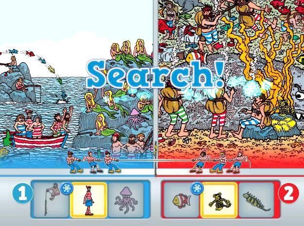 Ipad pelejä kuten Wheres Waldo