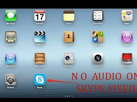 Ipad skype kein Ton wenn das Telefon klingelt
