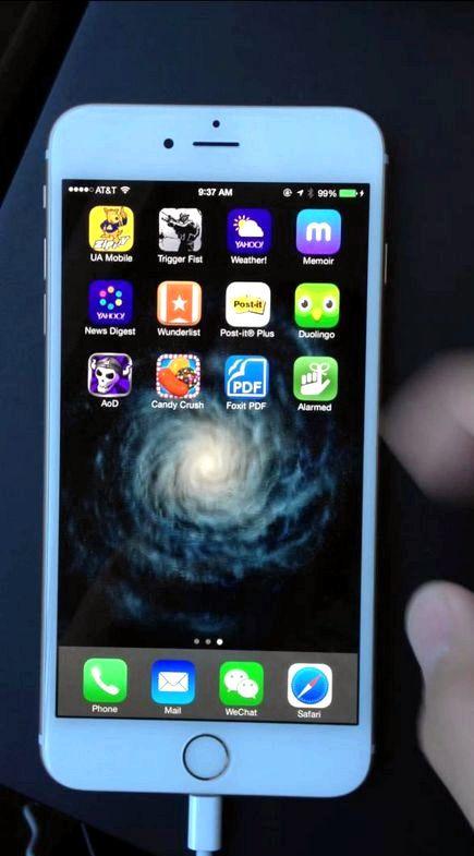 Iphone 5 näytön tärisee ladattaessa