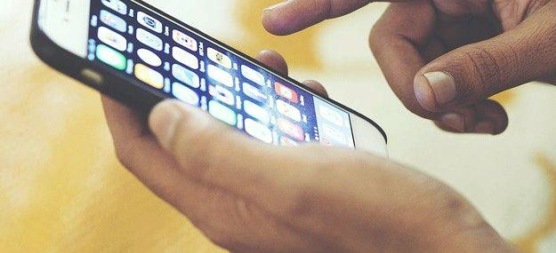 Iphone wirkt sich bei der Aufladung