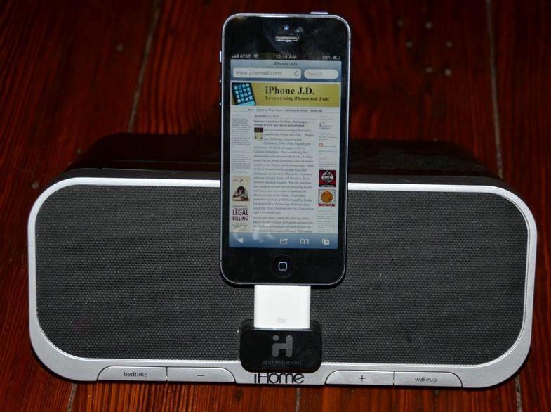 充電時にiPhoneのスピーカーにのみ動作します
