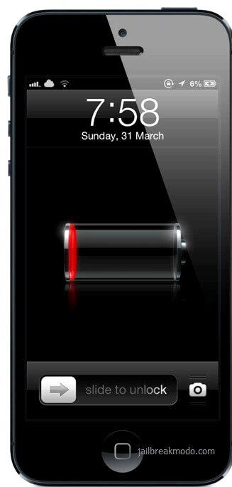Iphone vibrerar två gånger vid laddning