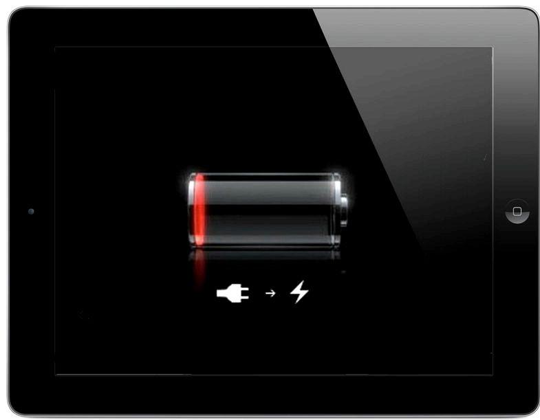 充電なしiPadの音はありません