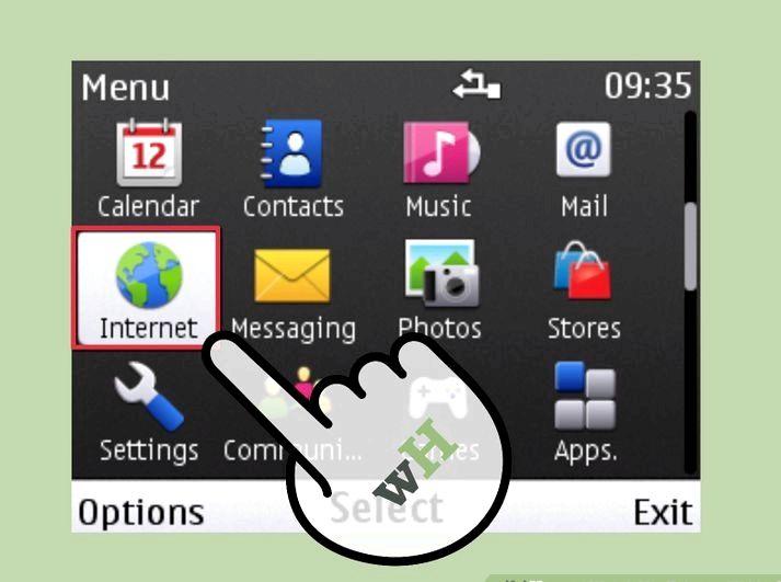 Nokia C3 minnet fullt när du surfar