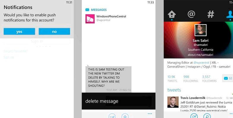 Nokia kraschar när du tar bort meddelanden
