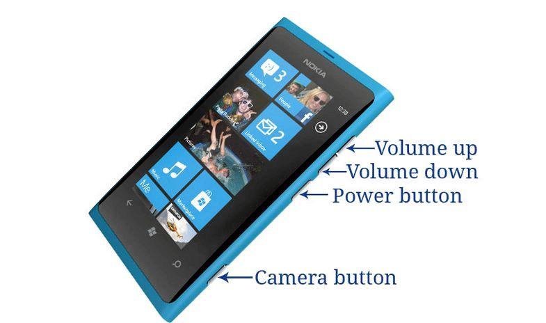 Nokia Lumia 800 fryser när du ringer
