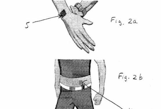 Nokia tatuering som vibrerar när telefonen ringer