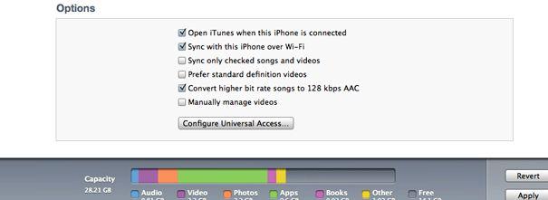 Su iPhone ciò che è altro supporto di memorizzazione