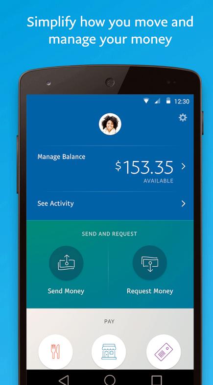 Paypal App-Fehler beim Senden von Geld
