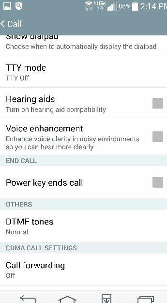 Telefon piept, wenn ich einen Anruf zu tätigen