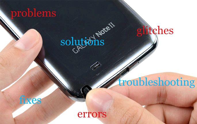 Samsung Galaxy Note 2 musta ruutu soitettaessa