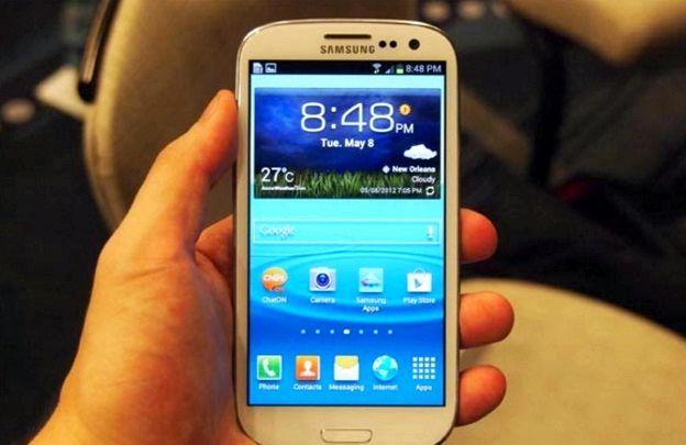 Samsung galaxy s3 hält das Einfrieren, wenn eine SMS