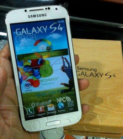 Galaxy S4 סמסונג המחיר הקוריאני בפקיסטן מה נייד