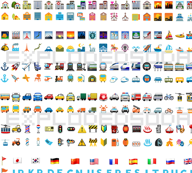 O que emojis android olhar como no iPhone