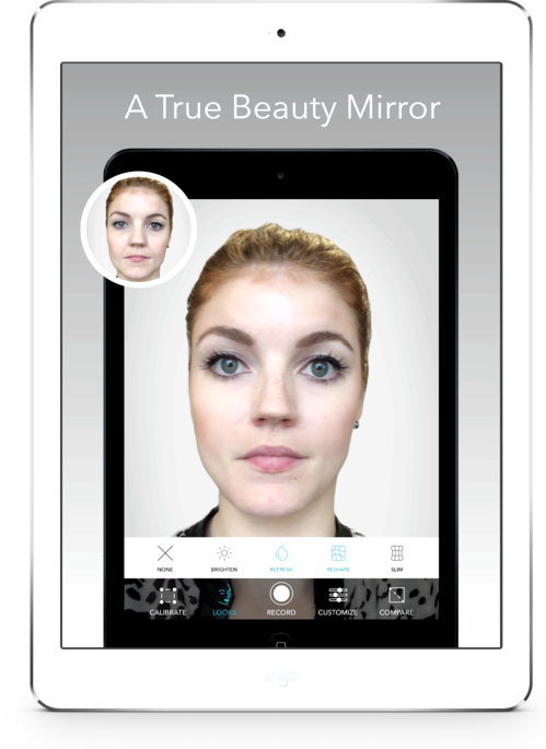 ¿Qué aplicación espejos fotos