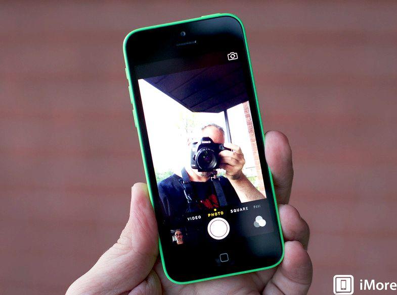 Mikä kamera ei iphone 5c on