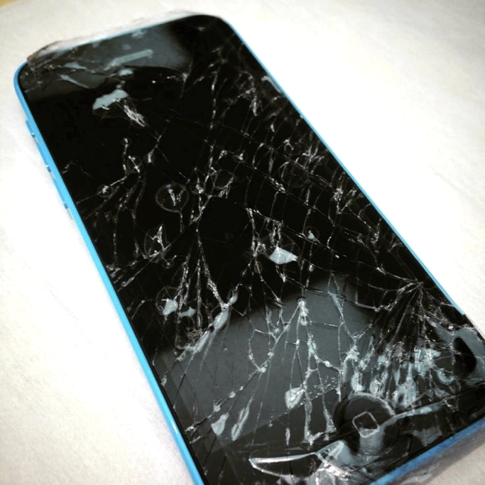 What do i do if my iphone 5 screen cracks