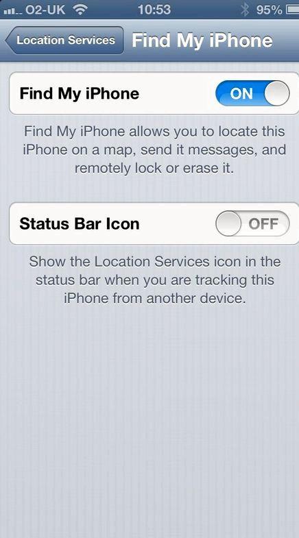 私のiPhone上の青い電話アイコンは何を意味しています