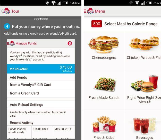 ファーストフードレストランは、オンラインアプリケーションを持っているもの