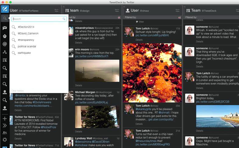 Hva har skjedd med TweetDeck ipad app