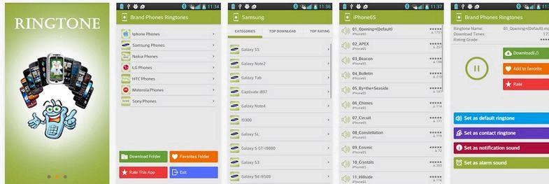 ¿Cuál es la mejor aplicación de tono de llamada gratuita para android