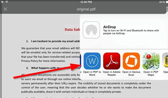 Qual é o melhor aplicativo de processamento de texto livre para ipad