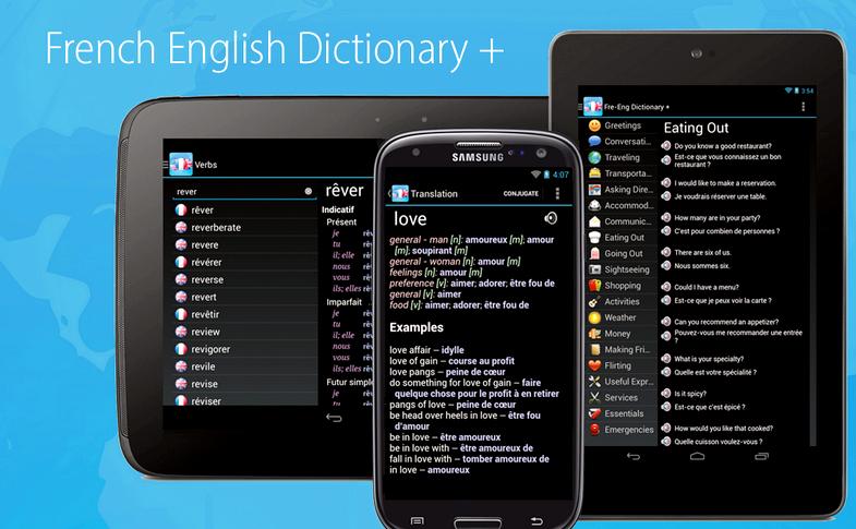 Vad är det franska ordet för mobiltelefon