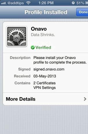 Hvað er VPN á iPhone Onavo