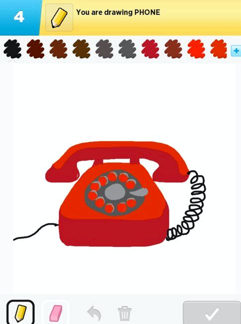 Que telefones faz desenhar algo trabalho sobre