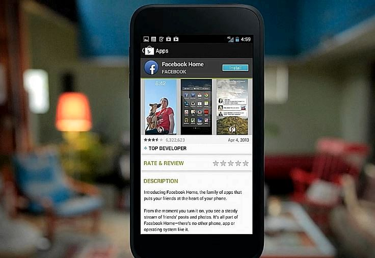 Hva telefoner får facebook hjem