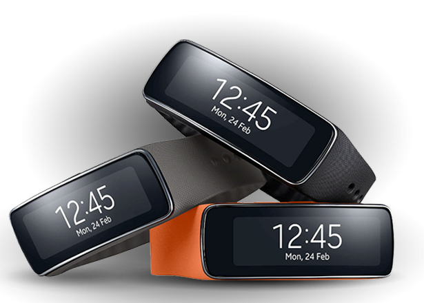 What phones is the samsung gear fit compatible with