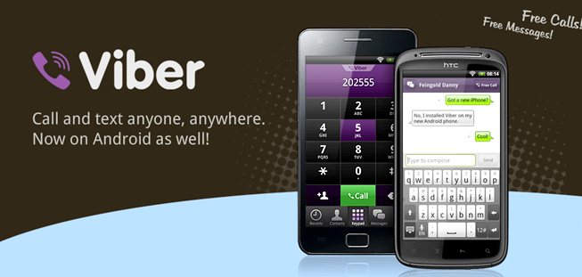 What phones is viber compatible with