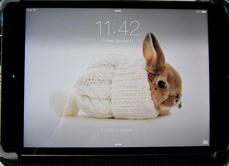 Quelle taille l'image pour l'ipad mini-fond d'écran