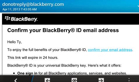 Hvaða a BlackBerry deili uppfærsla