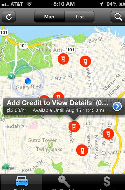 Missä minä olen pysäköity app iphone
