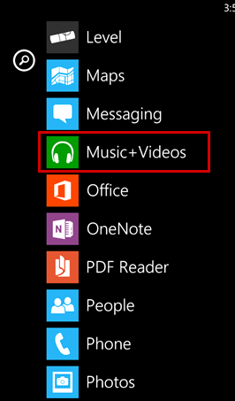 Where are bluetooth files stored in nokia lumia 520