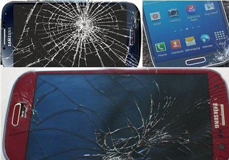 Mistä voin korjata Samsung Galaxy S4 näyttö