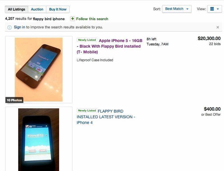 Mistä voin myydä minun iPhone 4S kanssa flappy lintu asennettuna