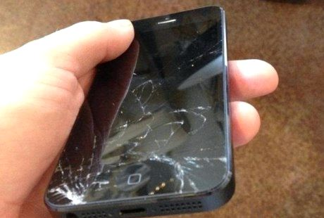 Hvor får jeg min iphone 5 skjermen fast