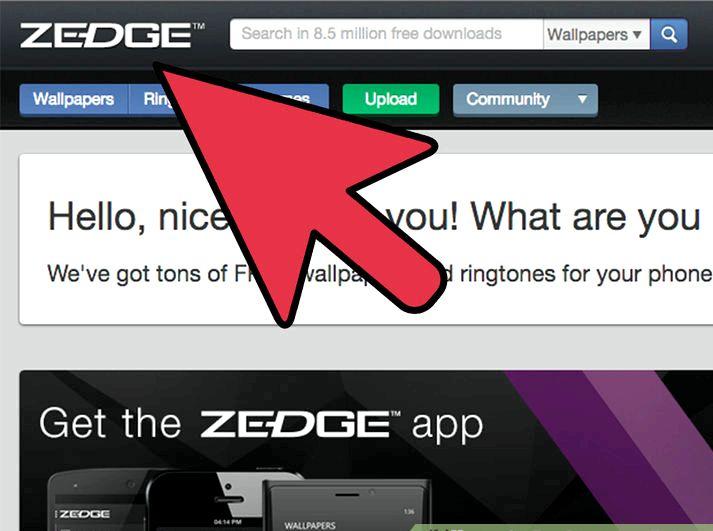 Missä tallennetut soittoäänet mennä iPhone Zedge